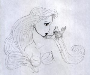 disney princess drawings my drawing of ariel disney princess