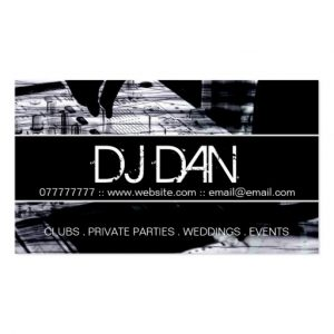 dj business cards custom dj business cards rdddadccebaeeba it byvr