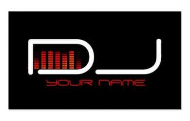 dj business cards unique dj business card reecaedaaecaa xwjey byvr