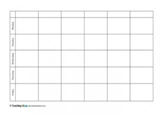 dl calendar template