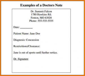 doctor excuse for work blank doctors note template doctors note template pdf