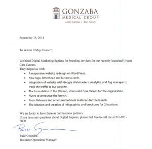doctor excuse for work gonzaba testimonials