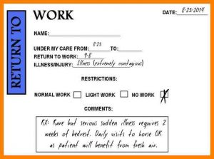 doctor excuse for work printable doctors note for work befunky free printable doctors note for work