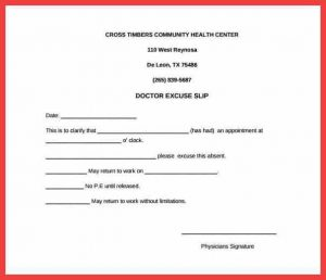 doctor excuse template for work hospital excuses blank doctors excuse slip note for work download min