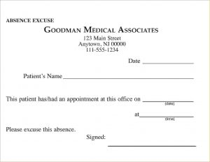 doctors excuse for work free printable doctors excuse for work absenceexcusemd