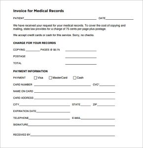 doctors excuse forms free editable invoice template pdf