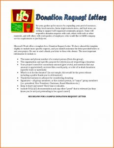 donation acknowledgement letter request for donation letter fdeaefebb