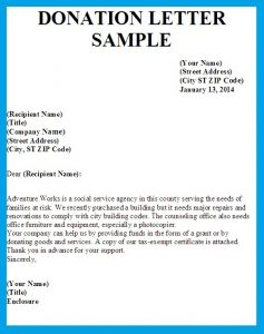 donation letter example letter asking for donations writing professional letters pertaining to contribution letter sample