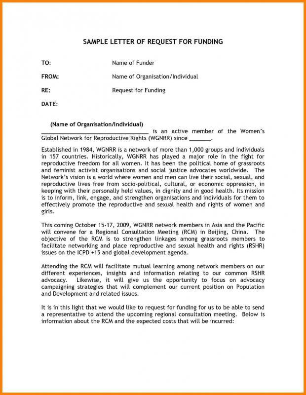 donation letter format