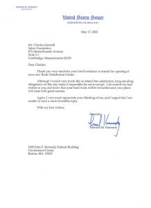 donation request letter for non profit kennedy