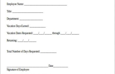 donation request template sample vacation pay request form