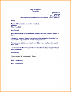 donations letter example letter of donation food donation request letter template