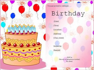 download birthday card simple birthday invitation card template free download about remodel free e invitation cards with birthday invitation card template free download