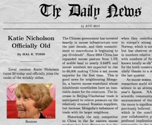 download birthday cards newspaper generator katie nicholson old x
