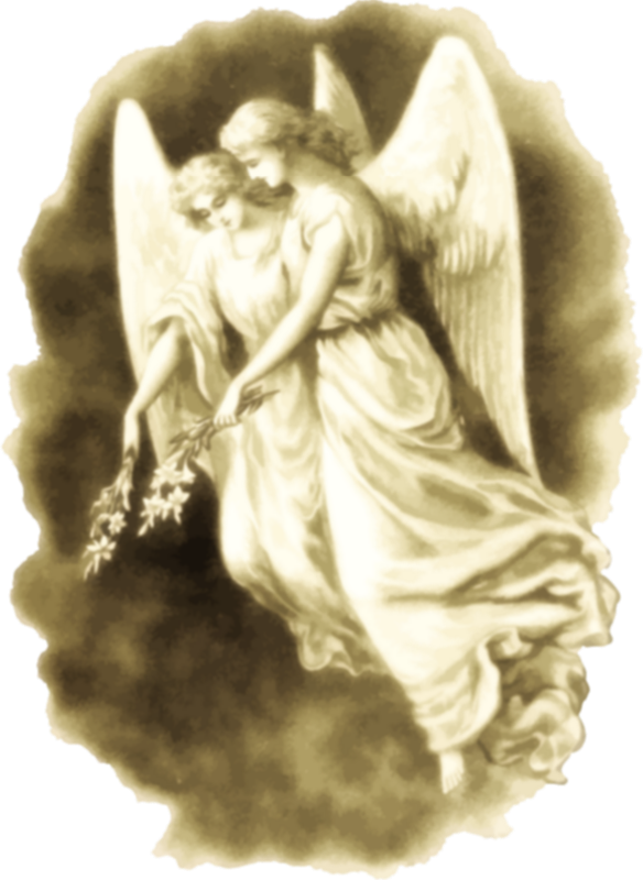 drawing of angels