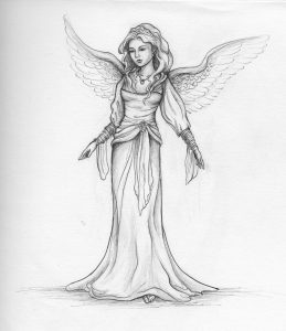 drawings of angels angel