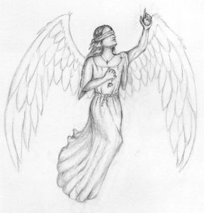 drawings of angels angel pencil drawings