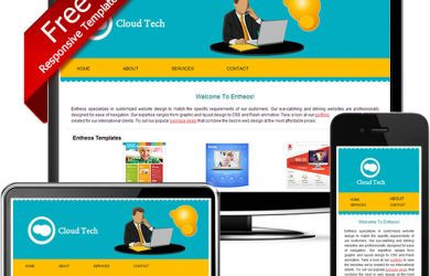 dream weaver website templates yellow blue dreamweaver responsive template