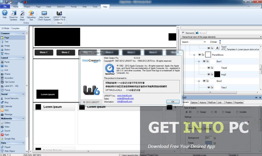 dreamweaver website templates