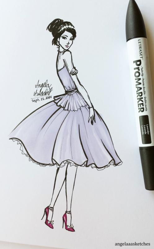 dress design sketches