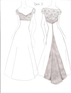 dress designing sketches designer sketches dress idea