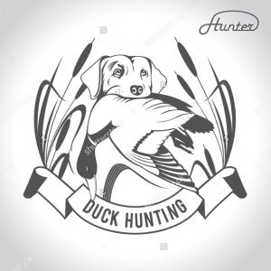duck hunting logos dog hunting duck logo
