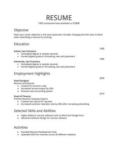 easy resume template baffaeddeb simple resume template resume templates