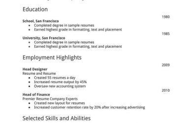easy resume template baffaeddeb simple resume template resume templates