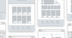 ecommerce website templates web design wireframe free template