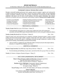 educational resume template teaching resume template resume templates throughout preschool teacher resume objective