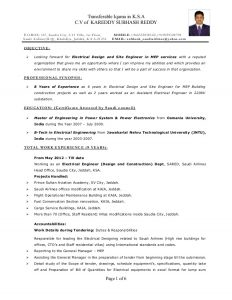 electrical engineer resume electrical engineer resume is astounding ideas which can be applied into your resume