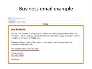 email format example professional business email format template example sample for business email example