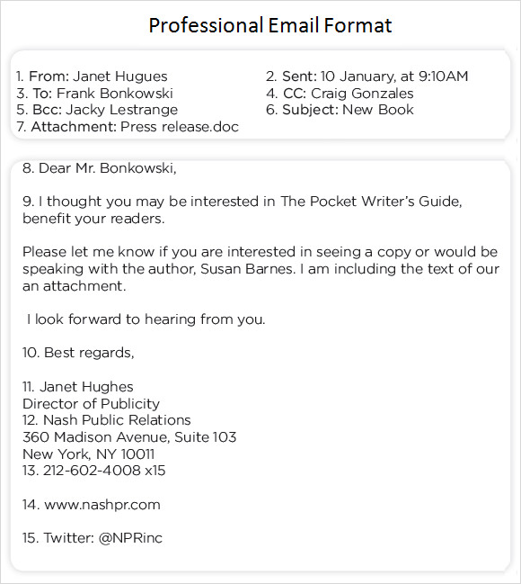 email format example
