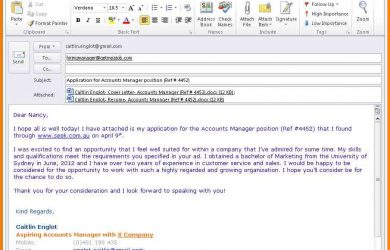 email to apply for a job how to write a job application email application for job interest email example