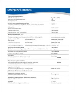 emergency action plan template emergency action plan template for home