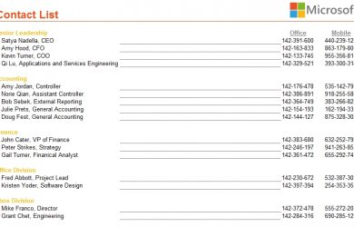 emergency contact form template contact list with static underlines