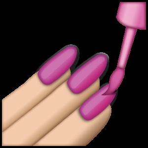 emoji pictures text pink nail polish emoji grande