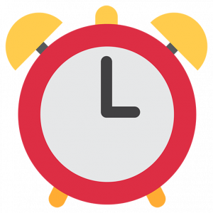 emoji text copy and paste alarm clock