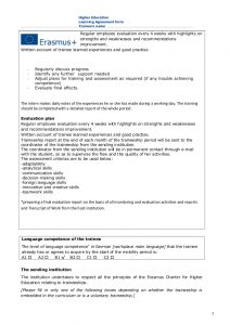 employee agreement form learning agreement for traineeships rumeysa