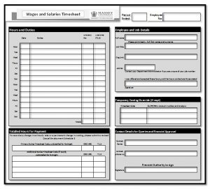 employee agreement template timesheet basic
