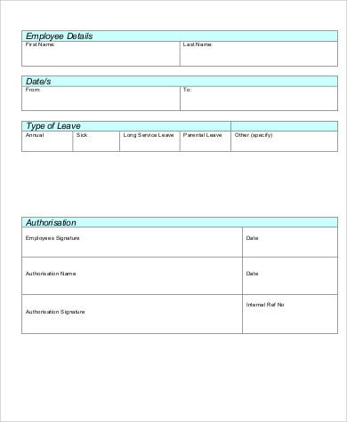 employee application form pdf template business