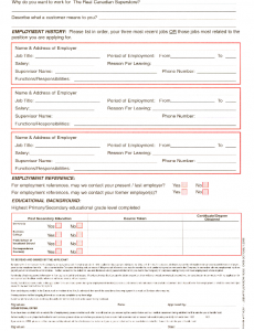 employee application form pdf real canadian superstore job application form