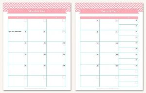 employee attendance calendar printable typable monthly calendars