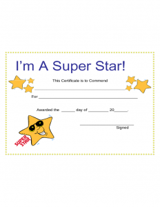employee contract template star award certificate template l