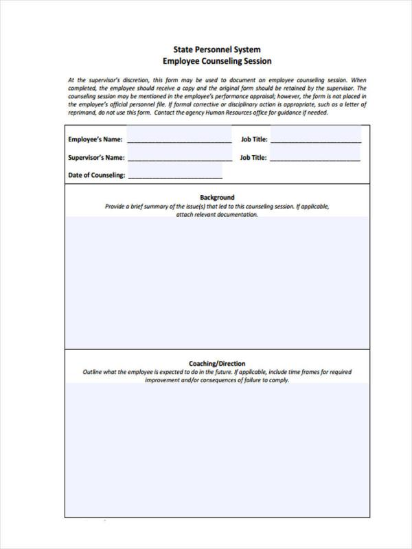 employee-counseling-form-hr-employee-counseling-form Sample Coaching Application Form on us passport renewal, business credit, u.s. passport, for matron job, auto loan, german schengen visa, car loan,