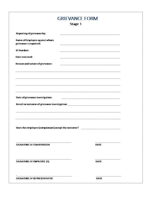 employee disciplinary form