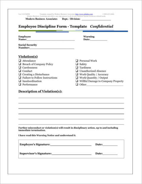 employee disciplinary action template akba greenw co