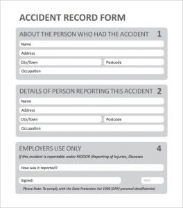employee incident reports employee incident report template