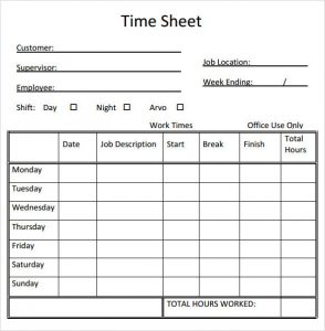 employee manual template timesheet calculator template free