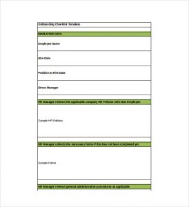 employee onboarding checklist onboarding checklist excel format template